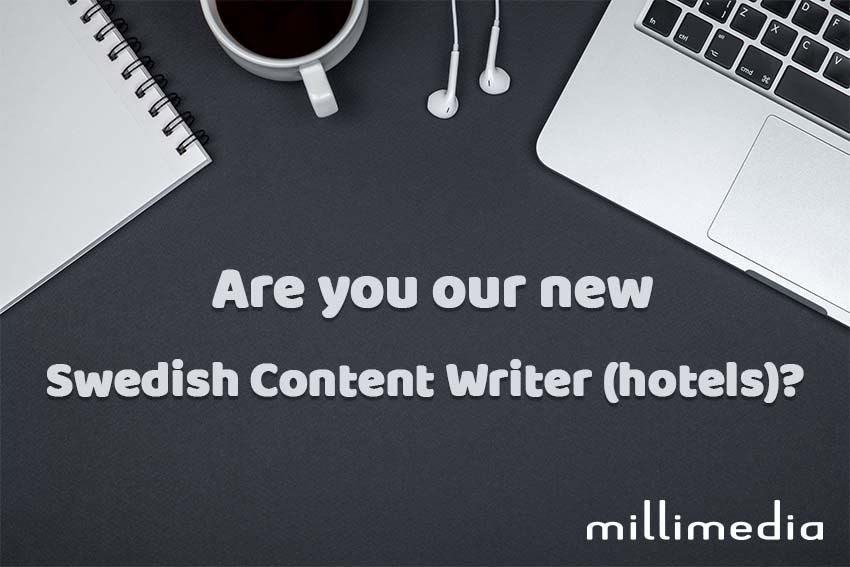 Swedish Content Writer – Hotels